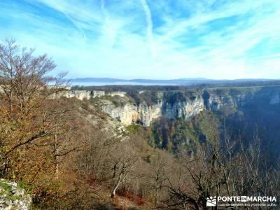 Parques Naturales Urbasa-Andía y Aralar - Nacedero del Urederra; viajes noviembre, otoño